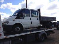 2004 ford transit tipper 350lwb spare or repairs