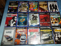 SELECTION OF 15 PLAYSTATION 2 PS2 GAMES