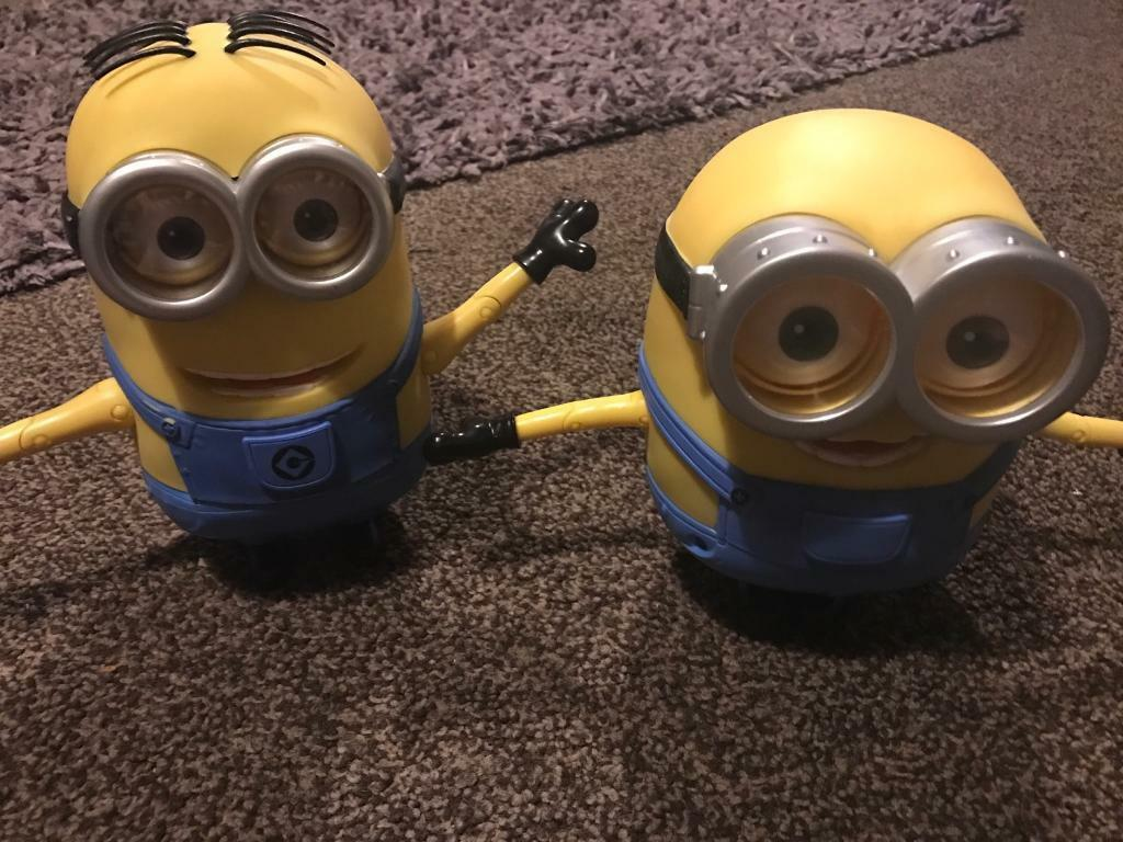 Talking Minion toys