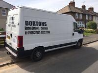 Dorton's rubbish clearance service /Garden clearance
