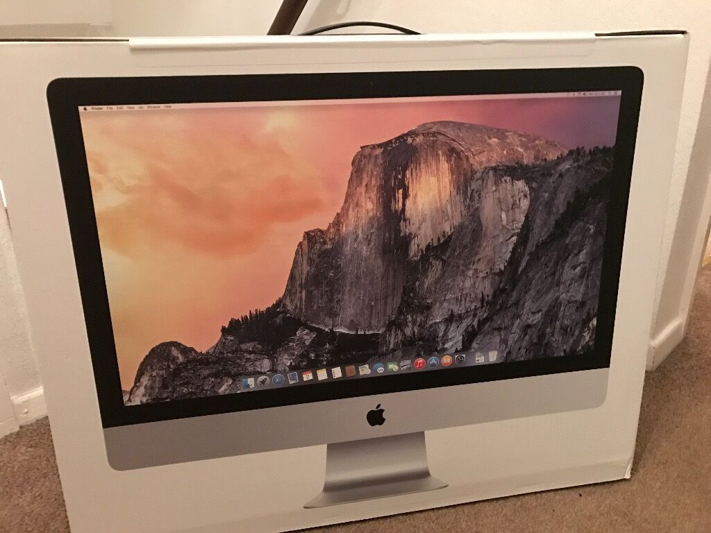 "iMac 27"" 5K Retina, Quad Core i5, 1TB Fusion Drive, 8GB Brand new unopened Late 2014 Model MF886B/Ain Cwmbran, TorfaenGumtree - Brand new still unopened in box iMac 27"" 5K Retina. Stunning Machine which i bought 2 at £1600 each when i started my own business, however I only used one. This iMac still has the tear to open seal still intact and is the Late 2014 model. The..."