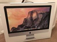 "iMac 27"" 5K Retina, Quad Core i5, 1TB Fusion Drive, 8GB Brand new unopened Late 2014 Model MF886B/A"