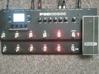 Line 6 Pod HD500 Effects Board - Multi FX + looper