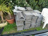 """Reclaimed Welsh Natural Slate Tiles (12"""" x 18"""") - 600 pieces for sale"""