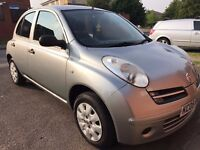 Nissan micra 1.25L face-lift model** 12months mot** Low Miles-54k