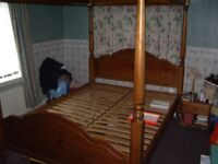 DUCAL four poster bed