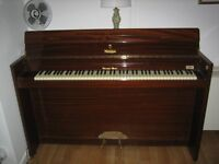 Art Deco Upright Eavestaff Miniroyal Piano for sale - small, discrete and much loved