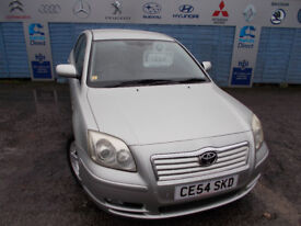 PART X DIRECT OFFERS VERY CLEAN TOYOTA AVENSIS SPIRIT COMES WITH NEW MOTSERVICE +WARRANTY DRIVES A1