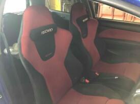 Honda Civic ep3 type r premier edition seats