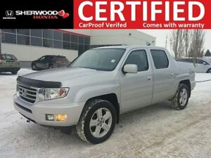 2013 Honda Ridgeline Touring AWD| REMOTE START| HEATED LEATHER|