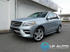 2014 Mercedes-Benz M-Class ML350 BlueTEC 4MATIC! No Accidents!
