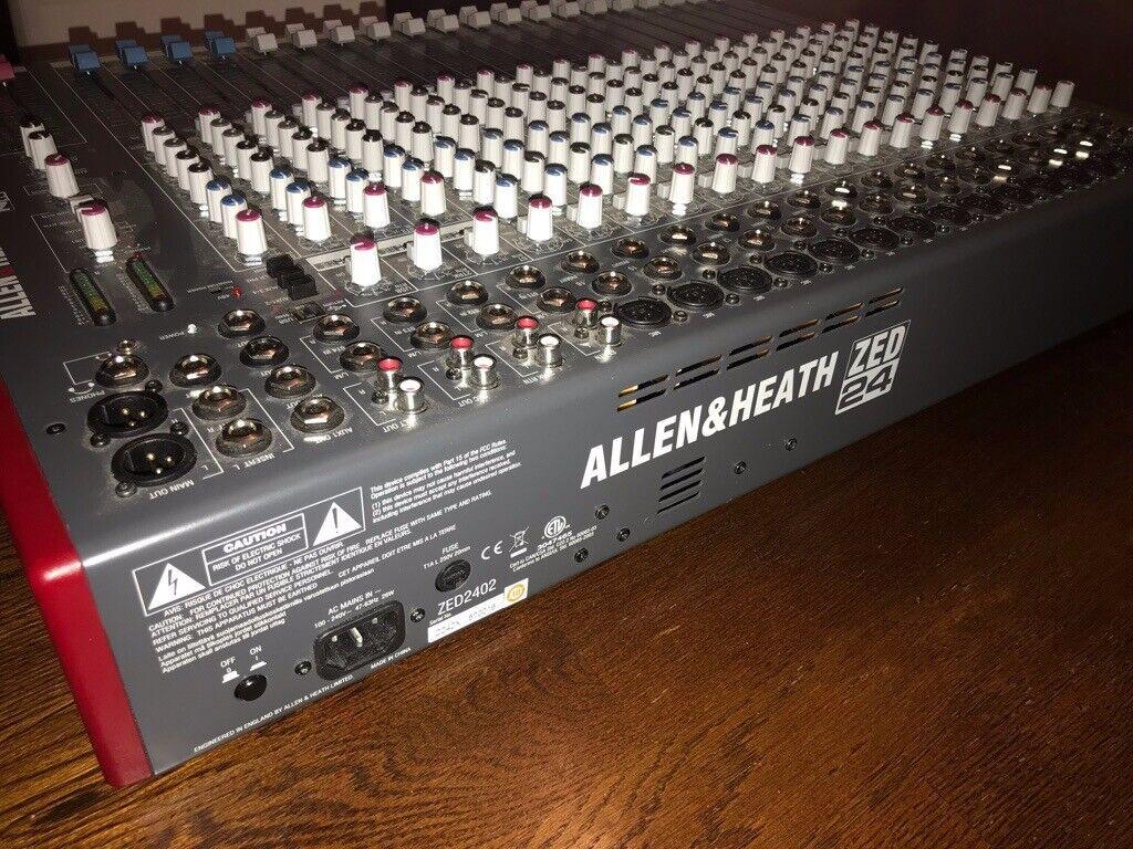 Allen & Heath ZED 24 Mixing Desk | in North Cornelly, Bridgend | Gumtree
