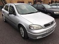 2003 Vauxhall Astra 1.6 Eco Flex + Long MOT, Excellent Condition