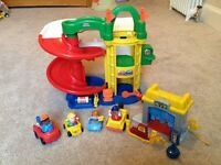 Fisher Price Garage and Car Wash