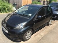 Toyota Aygo 2010 AUTO Black AirCon Alloy Wheels - Clean