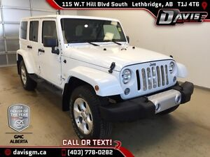 Used 2014 Jeep Wrangler Unlimited-Heated Leather Seats, Removabl