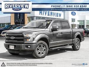 2016 Ford F-150 Lariat Sport 1.9%!!! Free Extended Warranty!!