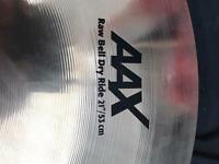 "Sabian AAX RawBell Ride 21"" new"