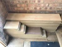 Laminate flooring (approx 100 pieces)