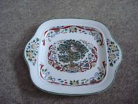 royal worcester twelve days of christmas cake plate