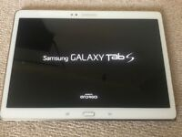 Tab S 10.5 T-800 WiFi complete with Samsung case excellent condition