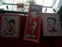 3 betty boop pictures