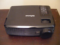 InFocus Projector (90 hours use) good, working, VGA, Composite, Remote