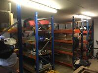 Warehouse heavy duty racking