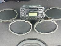 Ford focus mk1 radio and speakers