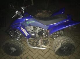 Yamaha 350cc road legal quad