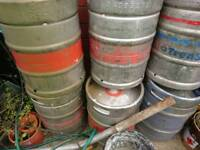 Empty Beer keg