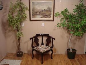 Antique Corner Chair