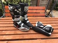 Motocross boots in mint condition