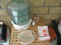 Tefal electric 'Steam Cuisine' Food Steamer 1000cl