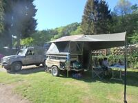 VENTER SAVUTI OFF ROAD TRAILER TENT 2016 WITH EXTRAS