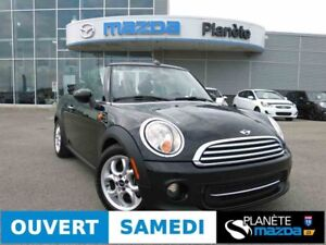 2013 MINI COOPER CONVERTIBLE MANUELLE MAG AIR CLIM CRUISE