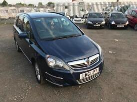 Vauxhall zafira 1.6 (2011)