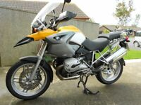 BMW GS1200 05 FSH-HPI CLEAR ONLY 15500 MILES FULL BMW LUGUAGE