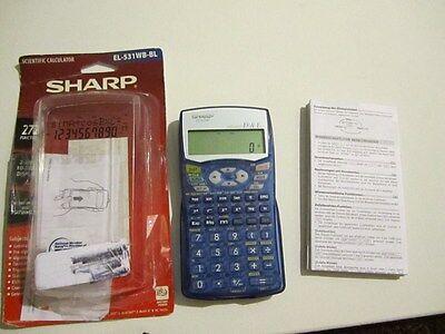 Sharp EL-531 Scientific Calculator***FAST SHIPPING!!!