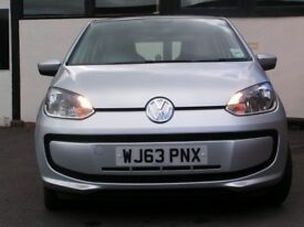 2013 Volkswagen Move Up! 5 door hatchback, One lady owner, Petrol, Low mileage 12,641, manual