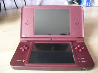 Nintendo DSI XL and one game.