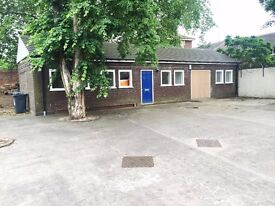 TO LET - Self Contained Offices & Storage with Private Gated Parking.