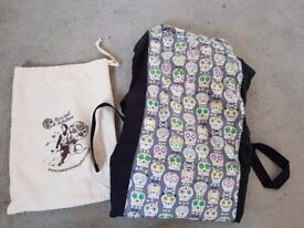 Rose and Rebellion Ooga Booga baby carrier