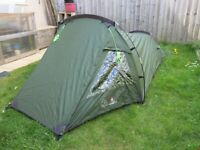 Eurohike Backpacker Tent for sale 2 person