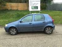 Fiat Punto 1.2 Active (2003/53 Reg) + 5 Door + Genuine 78k Miles + Ideal First Car +