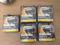 Brand New Gillette Fusion Proglide Razor 8 Blades
