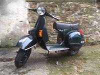 VESPA P200 - 'P200' plate, nr original condition, loads of extras