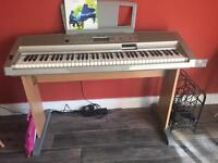 Yamaha Portable Grand Keyboard DGX-300 and stand