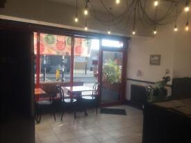 Retail A3 shop with fully furnished kitchen / equipment NO RATES