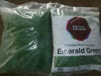 20 kg bags green garden decorative rocks